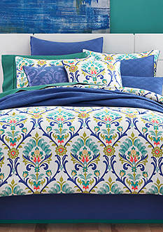 J by J Queen New York Panama Caribbean Comforter Set