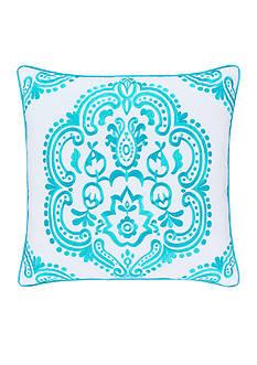 J by J Queen New York Jakarta Decorative Pillow