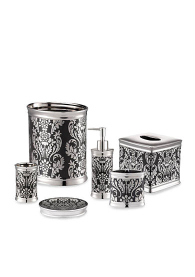 J queen new york carmen bath accessories for Queen bathroom decor