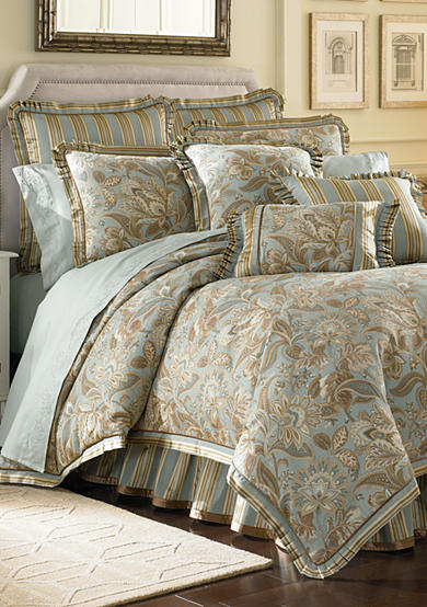 J Queen New York Valdosta Aqua Comforter Set - Online Only