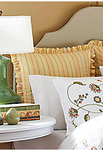 Whitney Gold Multi-Stripe Euro Sham 26-in. x 26-in.