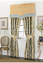 Century Drapery Pair 52-in. x 84-in. + 3-in. Header