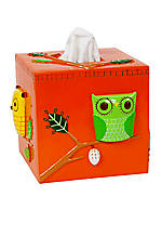 Give a Hoot Boutique Tissue Box