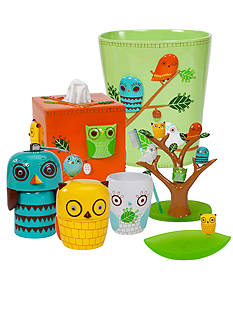 Creative Bath Give A Hoot Bath Accessories Collection