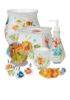 Creative Bath Rainbow Fish Bath Accessories Collection