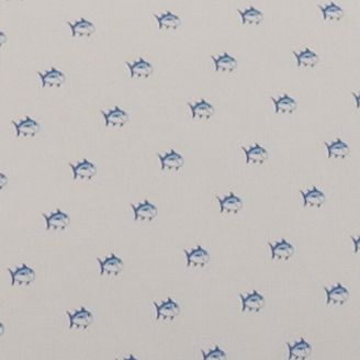 Shop By Brand: Southern Tide: White Southern Tide Skipjack Queen Sheet Set 94-in. x 102-in.