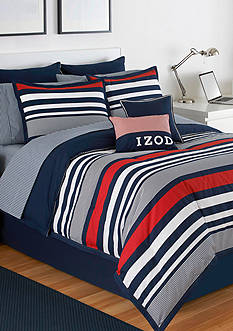 IZOD VRSTY STRIPE TWIN CSET
