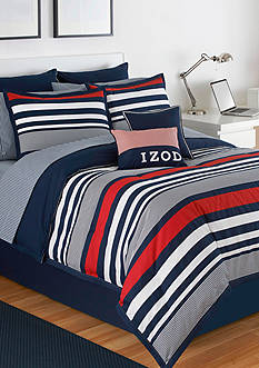 IZOD VRSTY STRIPE FULL CSET
