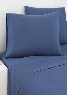 IZOD Izod Navy Cross Dyed Full Sheet Set