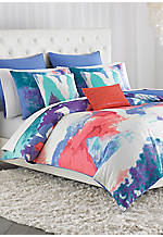 Painterly King Comforter Set 110-in. x 96-in.
