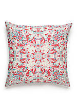 Painterly Decorative Pillow 16-in. x 16-in.