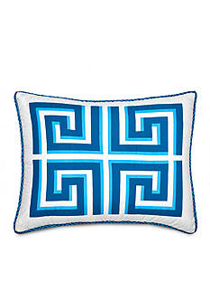 Jill Rosenwald JR GREEK KEY STANDARD SHAM