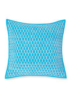 Southern Tide ST Basketweave 16 Square decorative pillow