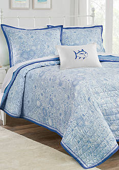 Southern Tide® Seapine Reversible Quilt