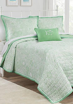 Southern Tide Seapine Full/Queen Reversible Quilt