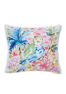 Dena Home™ Chinoiserie Garden Tropical Bird Decorative Pillow