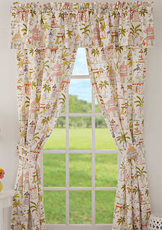 Haute Girls Safari Window Valance