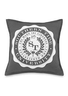 Southern Tide Skipjack Chino University Decorative Pillow