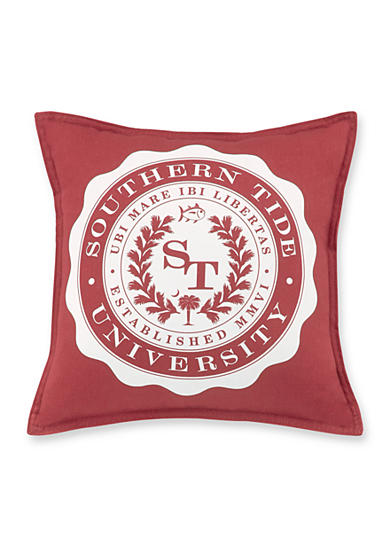 Southern Tide® Skipjack Chino University Decorative Pillow
