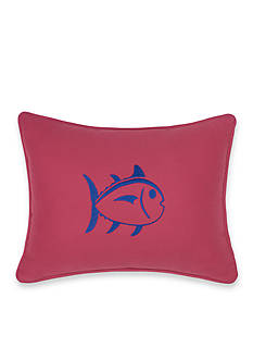 Southern Tide Skipjack Chino Embroidered Decorative Pillow