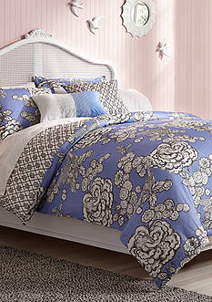 Collier Campbell CC HMBRD Toile Full/ Queen Comforter Set