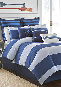 Southern Tide® Dock Street Stripe Reversible Comforter Set