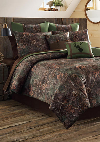 True Timber™ Mixed Pine Bedding Collection