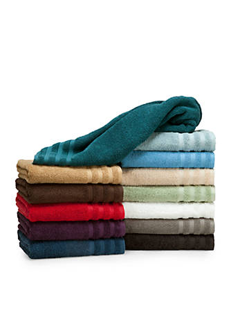 Egyptian bath towel collection online only belk for Bathroom accessories egypt