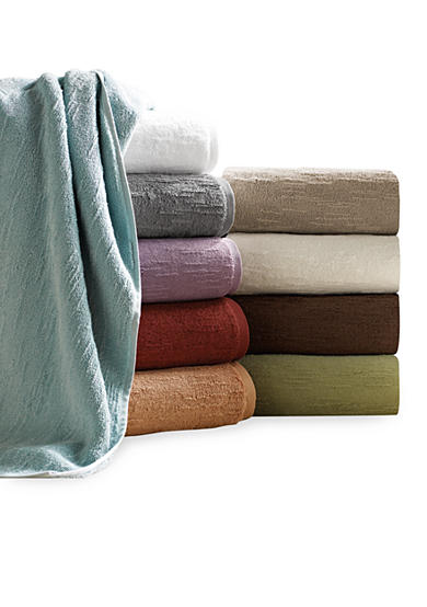 Portico Solid Slub Organic Cotton Towel - Online Only