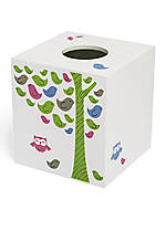 Merry Meadow Tissue Box 5.3-in. x 5.3-in. x 5.6-in.