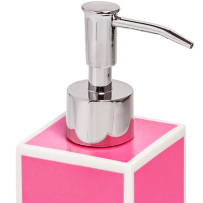 Kassatex Bath Accessories: Pink Kassatex SOHO LTN DISPENSER
