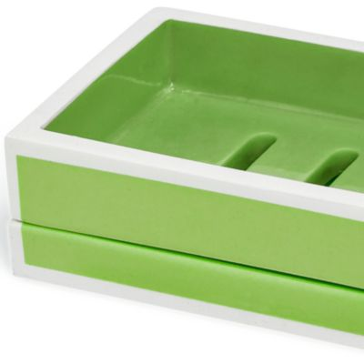 Kassatex Bath Accessories: Green Kassatex SOHO LTN DISPENSER