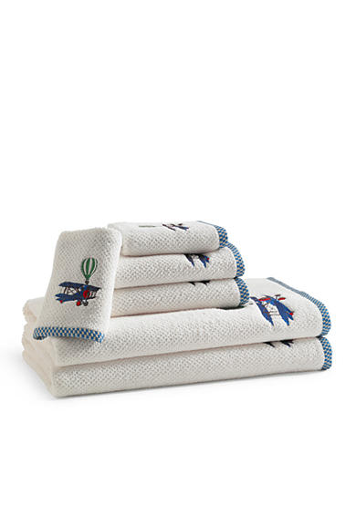 Kassatex Bambini In Flight Bath Towel Collection