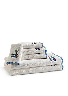 Kassatex BAMBINI IN FLIGHT EMBROIDERED HAND TOWEL