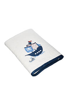 Kassatex BAMBINI PIRATES EMBROIDERED HAND TOWEL