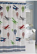 Kassatex Bambini In-Flight Shower Curtain -