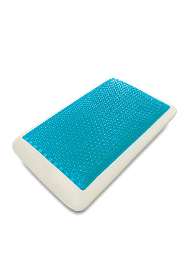 Comfort Revolution Cool Cerulean Bubbles Hydraluxe Bed Pillow