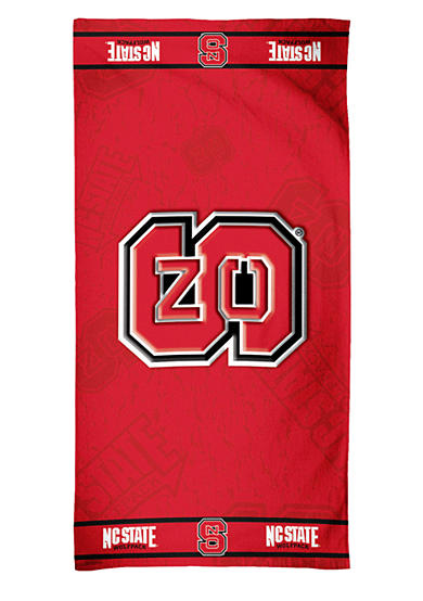 NC State Wolfpack Beach Towel
