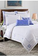 cupcakes and cashmere™ Blue Frame Duvet
