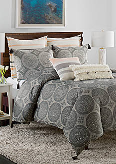 cupcakes and cashmere™ Dotted Medallion Duvet Cover