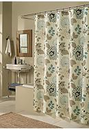 m.style Morgan Blue Shower Curtain - Online Only