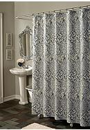 m.style Istanbul Blue Shower Curtain - Online Only