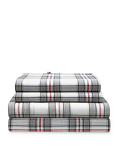 Tommy Hilfiger EVENING PLAID WHITE F SS