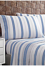 Lambert's Cove Stripe King Sheet Set 78-in. x 80-in. x 15-in. Fitted