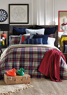 Tommy Hilfiger Middlebury Plaid Comforter Set