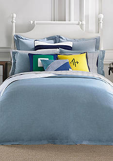 Tommy Hilfiger® Modern Sands Chambray Bedding Collection