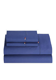 Tommy Hilfiger Signature Solid Twin Sheet Set 39-in. x 75-in.
