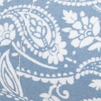 Bed & Bath: Up To 399tc Sale: Tonal Paisley Blue Home Accents MF PRINT SHEETS TWIN