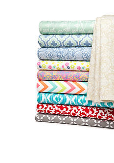 Home Accents® Microfiber Printed Sheets