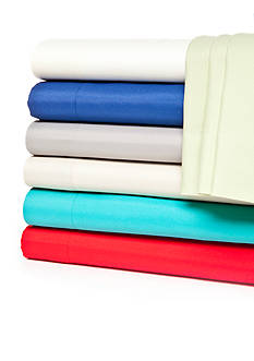 Home Accents® Microfiber Solid Sheet Sets